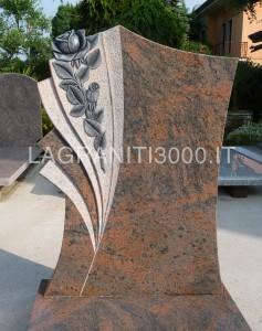 Monumento Funerario Rosa in marmo - La Graniti 3000